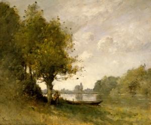 Paul-Désiré Trouillebert - Un pont près de Nangis - New York, The Metropolitan Museum of Art