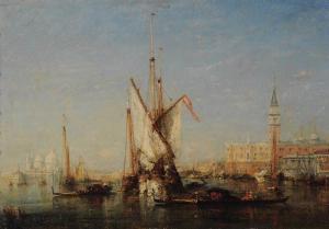 Félix Ziem - Venise : vue sur San Giorgio - Reims, Musée des Beaux-Arts