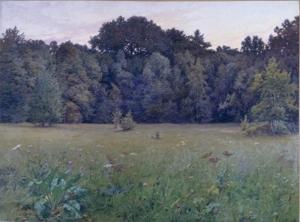Henri Biva - Après le coucher du soleil - Salon de 1901 - Bayeux, Musée Baron Gérard