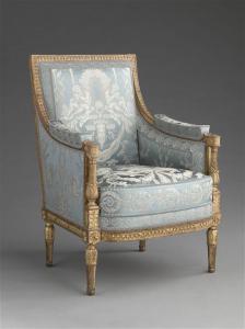 Jean-Baptiste Claude Sené - Fauteuil A la Reine - Paris, Musée du Louvre